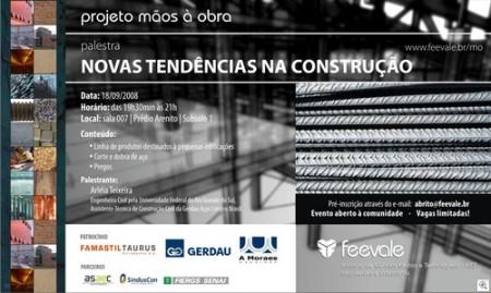 Tendencias na construção
